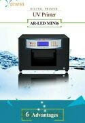 Airwen Ar-led Mini 6 A4 Size Uv Printer Used Sold As/is Guitar Pick Printing