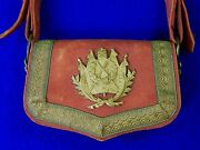 Antique France French 19 Century Musket Or Rifle Ammo Pouch