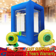 Inflatable Cash Cube Money Machine Advertising Promotion 2 Air Blowers 9ft