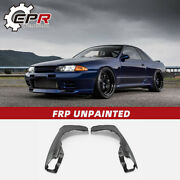 For Nissan Skyline Gtr R32 Oe Style Frp Front Fender Trim Mud Guards Body Kits