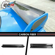 For Nissan R33 Gtr Nis Style Carbon Fiber Glossy Twin Spoiler Blade Body Kits