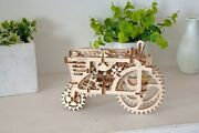 Ugears Code 70003 Wooden 3d Mechanical Puzzle Tractor