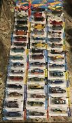 47 Hotwheels Best For Track Cars On Cards Lot