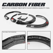 Mo-style Carbon Front And Rear Fender +20mm Fit Jcw For 10-16 Mini Countryman R60