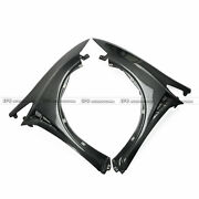 New Carbon Vented Front Fenders For Honda Civic 06-11 Fn Fk Fn2 Typ-r Mug-style