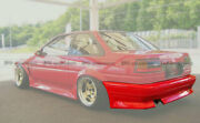 For Toyota Ae86 Levin Ruf Style Rear Bumper Bodykits Frp Unpainted Parts