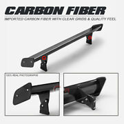 For Bmw F82 M4 Glossy Fibre Trunk Wing Carbon Fiber Rear Spoiler Revgts Style