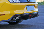 For Ford 15-17 Mustang Gt350r Carbon Fiber Rear Bumper Under Diffuser Trim Wing