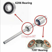 Cnc Bridgeport Milling Machine Parts R8 Spindle Bearings Assembly 6206 + 7207
