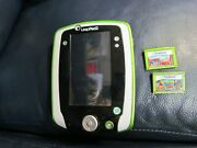 Leapfrog Leap Pad 2 Tablet With 2 Games Pixar Pals And Cars 2 Leappad 2