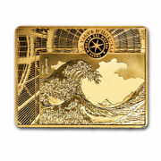 2020 1/4 Oz Proof Gold Andeuro50 Masterpieces Of Museums The Wave - Sku213973