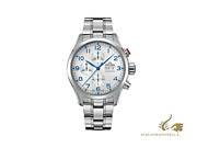 Delma Aero Pioneer Chronograph Automatic Watch Silver 45 Mm 41701.580.6.062
