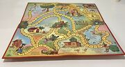 Vintage Board Gameuncle Wiggly 1967 Parker Brothers Game Board Only
