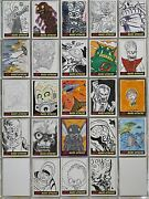 Mars Attacks Artist Autograph Sketch Trading Card 1/1 You Pick Single Topps 2012
