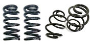 1963-1972 Chevy C10 1/2 Ton Truck 3 Front + 4 Rear Lowering Coil Springs Kit