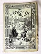 The Story Of The Greatest Nations Magazine 1909 31 Historical Edition Beautiful