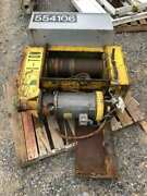 Robbins And Myers 50and039 X 1/4 Wire Rope / Cable Hoist 3hp 230/460v 3ph