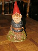 Tom Clark Gnomes - Rare, Retired, And Hand Signed Forest Gnome 1, 1983