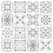 Grey Mosaic Tile Stickers Transfers For Kitchen / Bathroom 145mm X 145mm G08