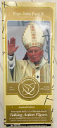 Pope John Paul Ii Talking Action Figure - Limited Edition -timecapsule Toys 2005