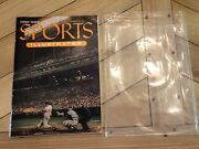 Vintage Sports Illustrated Magazine Issue 1 August 14 1954 Baseball Cards Mint
