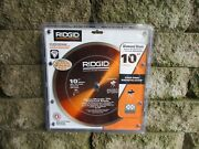 New, Ridgid 10 In. Wet Saw Glass Tile Blade