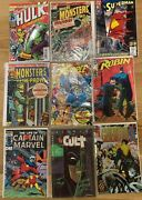 Marvel And Dc Vintage Comic Book Collection 9 Comic Books