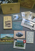 Vintage Lot Of Photos Post Cards Old / New Foreign / Foldouts Tourist Collection