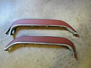 Vintage Original Pair Late 40and039s Early 50and039s Gm Rear Fender Skirts Primed Paint Re