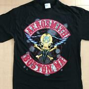 Aerosmith Vintage Tour T-shirt Pushead Dead Stock Made In Usa 90s Size L F/s