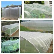 Cerbior 5pcs Mosquito Garden Insect Netting Barrier Bird Net Plant Protect8x30ft