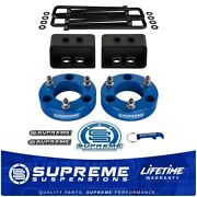 For 2004-2008 Ford F150 Full 3.5 Front + 3 Rear Lift Kit Pro Race Blue