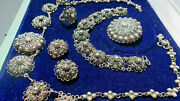 Vintage Antique 950 Sterling Silver Cannetille French Sterling Garantie Jewelry