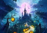 Halloween Gothic Castle Cemetery 500 Pc Jigsaw Puzzle Adult Kid Educational Toy