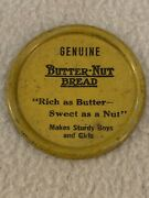 Vintage Lot Of 10 Butter-nut Bread Advertising Tin Toy Clickers Premium Giveaway