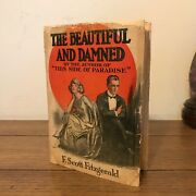 The Beautiful And Damned F Scott Fitzgerald 1922 1st/1st W/ 2nd State Dj