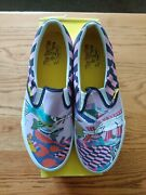 Beatles Yellow Submarine Sea Of Monsters Slip-on Shoes Size 10 New In Box