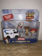 Disney Toy Story 4 Minis Rv And Friends Road Trip Special Edition Runaway Forkyu