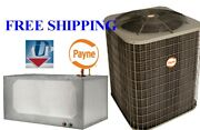 4 Ton 14seer Central A/c System Condensing Unit And Plenum Evaporator Coil