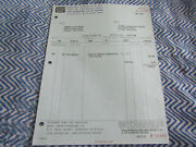 1966 Shelby Dealer Invoice To Hayward Ford In Calif For Competition Headers Set