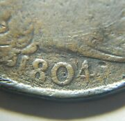 Large Cent/penny 1804 Sheldon 266 Die State A Crystal Clear Date