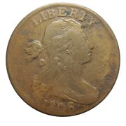 Large Cent/penny 1806 Nice High Grade Details Collector Coin