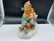 M.i.hummel Figurine 2014/iii From The Railway 9 5/16in 1 Choice. Top State
