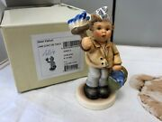 Hummel Figurine 2040 Painter Kleksel 4 5/8in New With Original Package And Coa