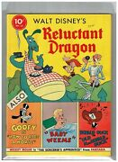 Reluctant Dragon 4-col 13 Vf/nm 1941 Mickey As Sorcererand039s Apprentice Too Reduced