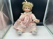 Thelma Resch Porcelain Doll 19 11/16in Top Condition