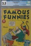 Famous Funnies 80 Cgc 3.5 1941