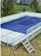 Hpi Aquamaster Solid W/ Drain Onground Safety Cover For Use With Kayak Poolsandreg
