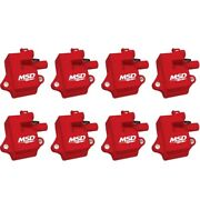 Msd 82858 Pro Power Direct Ignition Coil Set For 98-02 Chevy Camaro 5.7l New