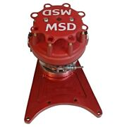 Msd 8520 Pro-billet Front Drive Distributor For Chevy Big Block New